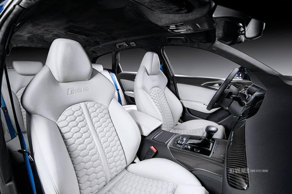 Audi RS6 interior vilner