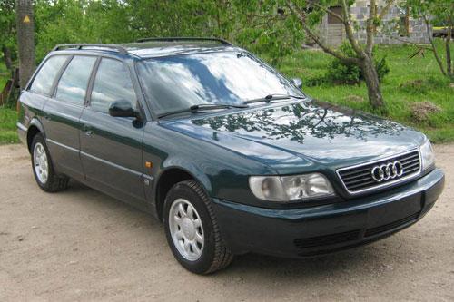 Audi A6 old wagon